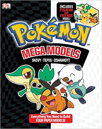 Pokemon Mega Models: Build Snivy, Oshawatt and Tepig