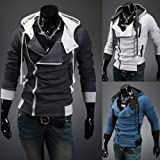 Men Autumn/winter coat Korean Slim Men Men's hooded cardigan sweatershirt