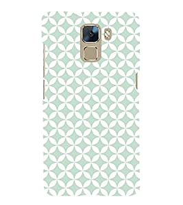 Spanish Green 3D Hard Polycarbonate Designer Back Case Cover for Huawei Honor 7