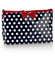 Nautical Spotted Cosmetic Bag