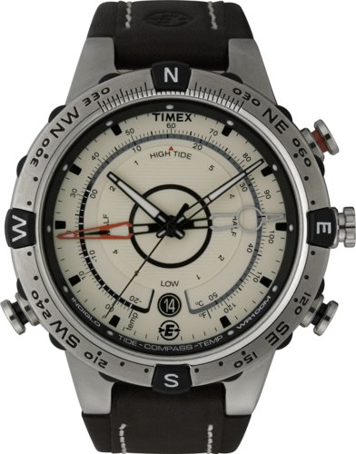 Timex Men's Expedition E-Instruments Compass Tide Temperature Watch  T45601