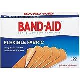 Band-Aid Johnson & Johnson Band-Aid, Flexible Fabric, 100-Count Boxes