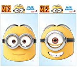 TWIN PACK - Minions Dave & Stuart - 2 Official Despicable Me Masks