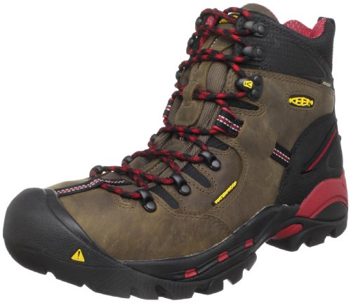 KEEN Utility Men's Pittsburgh Steel Toe Work Boot,Bison,8 D US
