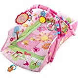 Bright Starts Pretty 5-in-1 Garden Fun Baby's Playplace Deluxe Edition (Pink)