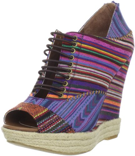 Chinese Laundry Women's Make My Day Ankle Boot,Brown Multi,9.5 M US