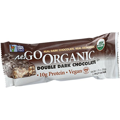 NuGo Organic Dark Double Chocolate Bar, 1.76 oz. (Nugo Bars Organic compare prices)