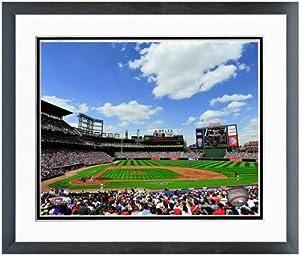 Atlanta Braves Turner Field MLB Stadium Photo (Size: 26.5 x 30.5) Framed by MLB