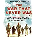 The War that Never Was: The True Story of the Men who Fought Britain's Most Secret Battle Audiobook by Duff Hart-Davis Narrated by Cameron Stewart