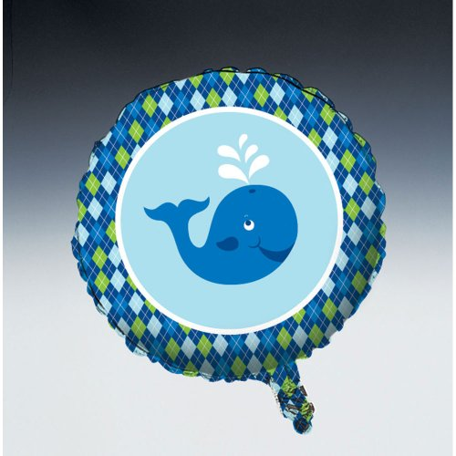 Creative Converting Ocean Preppy Boys Metallic Mylar Balloon