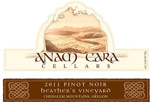 2011 Anam Cara Cellars Heather'S Vineyard Pinot Noir 750 Ml