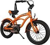 bike*star 40.6cm (16 Zoll) Kinder-Fahrrad Cruiser - Orange