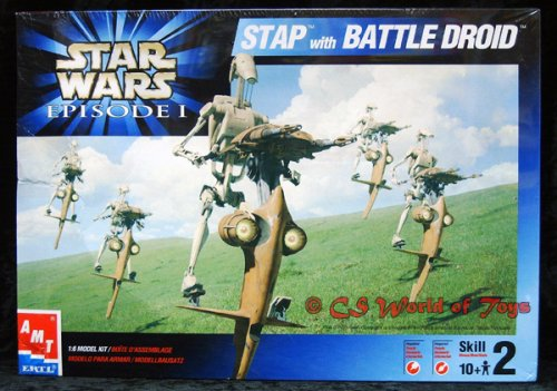 Star Wars STAP with Battle Droid Model Kit (Star Wars Amt Model Kit compare prices)