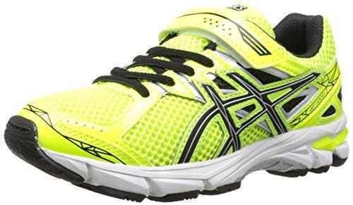 Toddler ASICS 'GT-1000 3 PS' Running Shoe Flash Yellow/ Blac