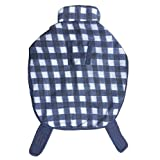 Super Dog Coat Blue And White Check Extra Large S28