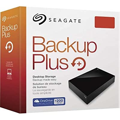Seagate Backup Plus STDT8000300 8TB Desktop External Drive (Black)