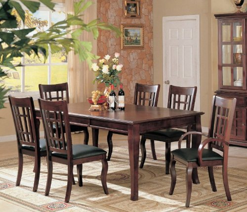 black friday 7pc formal dining table chairs set rich