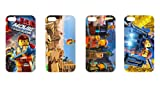 Wholesales 4pcs The Lego Movie Fashion Hard back cover skin case for apple iphone 4 4s 4g 4th generation-i4tlm4003