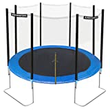 Ultrasport Trampoline de jardin Jumper 366 cm avec filet de sécurité Bleu - Best Reviews Guide