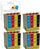 Premier Ink E-1295 / T1295 X 16 Compatible Printer Ink Cartridges Fit Epson Stylus B42Wd, Bx305Fw, Bx320Fw, Bx525Wd, Bx535Wd, Bx625Fwd, Bx630Fw, Bx635Fwd, Bx925Fwd, Bx305F, Bx935Fwd, Sx235W, Sx420W, Sx425W, Sx435W, Sx445W, Sx525Wd, Sx535Wd, Sx620Fw, Work