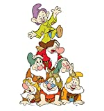 Seven Dwarfs Group - Snow White and the Seven Dwarfs - Advanced Graphics Life Size Cardboard Standup