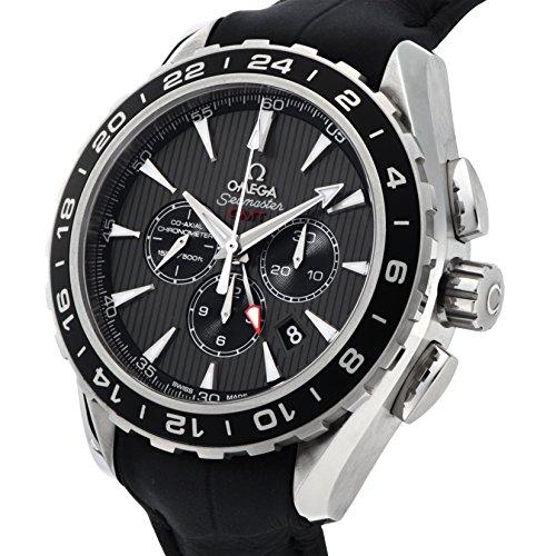 meet c24e3 e5c32 オメガ]OMEGA 腕時計 シーマスターアクアテラ ブラック文字盤 ...