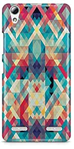 Lenovo A6010 Back Cover by Vcrome,Premium Quality Designer Printed Lightweight Slim Fit Matte Finish Hard Case Back Cover for Lenovo A6010