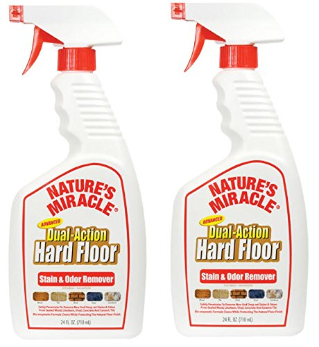 Nature's Miracle Advanced Dual-Action Hard Floor Stain & Odor Remover (Enzymatic Cleaner For Wood Floors compare prices)