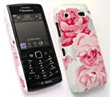 FLASH SUPERSTORE BLACKBERRY 9105 PEARL 3G TEXTURED BLOSSOMED PINK CLIP ON PROTECTION CASE/COVER/SKIN