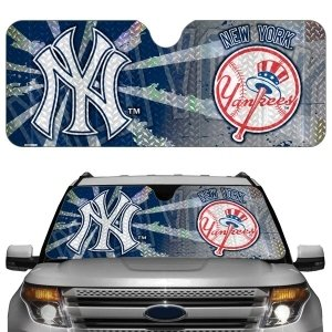New York Yankees Auto Sun Shade by Hall of Fame Memorabilia