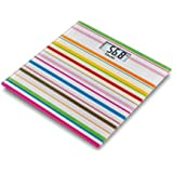 Beurer GS 27 Happy Stripes Pèse-personne en verre design