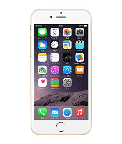 Apple iPhone 6 16GB ゴールド 国内版SIMフリーMG492J
