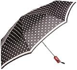 (ムーンバット)MOONBAT フログレット 婦人おりたたみミニ傘 ドット柄 自動開閉ダブルジャンプ傘