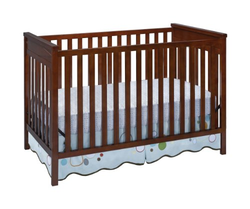Delta Children'S Products Diamond 3 In 1 Crib, Dark Cherry