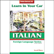 Learn in Your Car: Italian, Level 3 Audiobook by Henry N. Raymond, Ester Pavelko Narrated by  uncredited