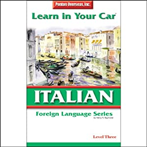 Learn in Your Car: Italian, Level 3 Audiobook