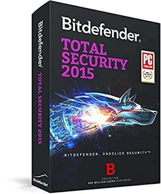 Bitdefender Total Security 2015 - 1 PC, 1 year [Download]