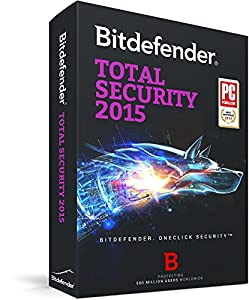 Bitdefender Total Security 2015 - 1 year - 3 users (PC)