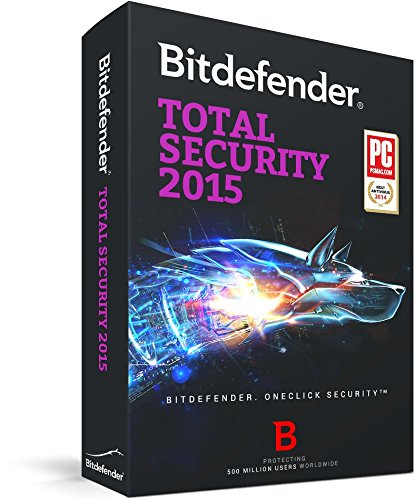 Bitdefender Total Security 2015 – 1 PC, 1  year [Download] image