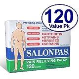 Salonpas Pain Relieving Patch - 120 Patches ~ Salonpas