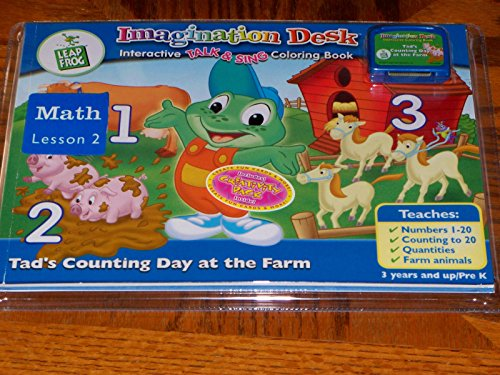 Leap Frog Imagination Desk Interactive Color and Learn - 1