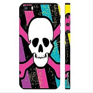 Enthopia Designer Hardshell Case Colourful Danger Back Cover for Apple Iphone 5,5s,SE
