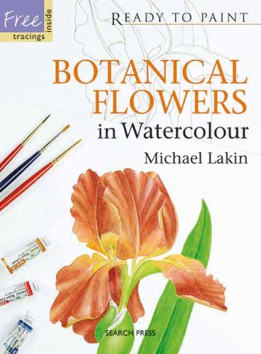 Botanical Flowers in Watercolour (Ready to Paint) PDF