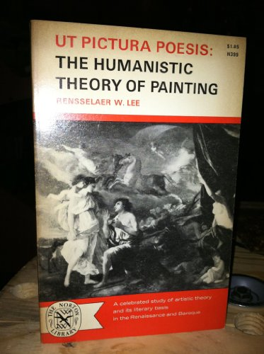 Ut Pictura Poesis the Humanistic Theory of Painting