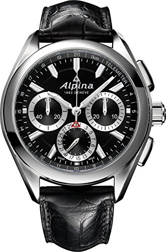 Alpina Geneve Alpine 4 Flyback Chronograph Al 760BS5AQ6 Men's Automatic Calibre Chronograph Manufacture