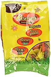 Reese\'s Mega Mix Easter Candy Assortment, 22.46-Ounce Bag