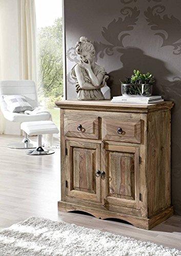 Coloniale grigio credenza in legno di palissandro mobile in legno massiccio Sheesham massiccio oliato Möbel Robin #12