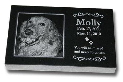 Medium Standard Pet Grave Marker - Pet Headstones - Pet Gravestones - Pet Memorials