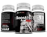 LFI Boost For Him - Get Bigger, Thicker, Stronger, Harder, and Fuller; Last Longer, Finish Stronger, Your Complete Male Enhancement*