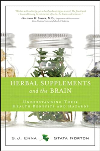 Herbal supplements and the brain understanding their health benefits and hazards hardcover